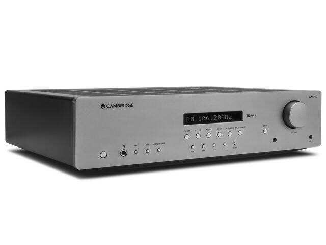 Cambridge Audio AXR100 test amplitunera stereo